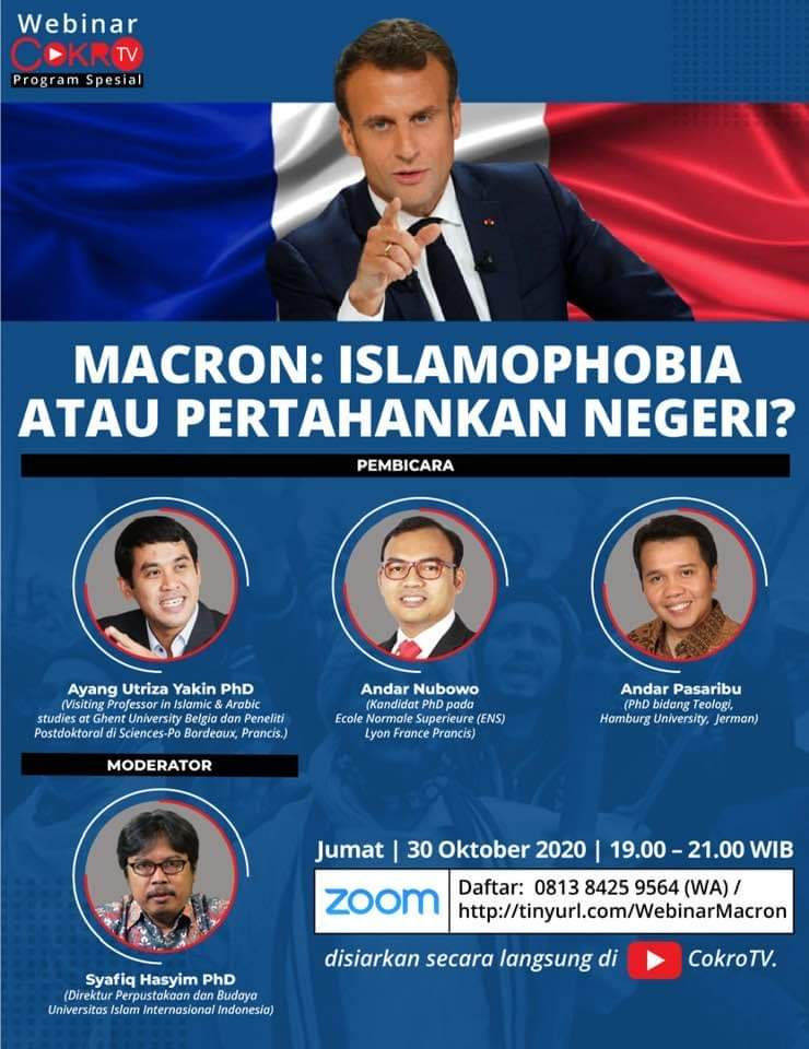 Macron's Controversy in the Eyes of European Alumni in Indonesia