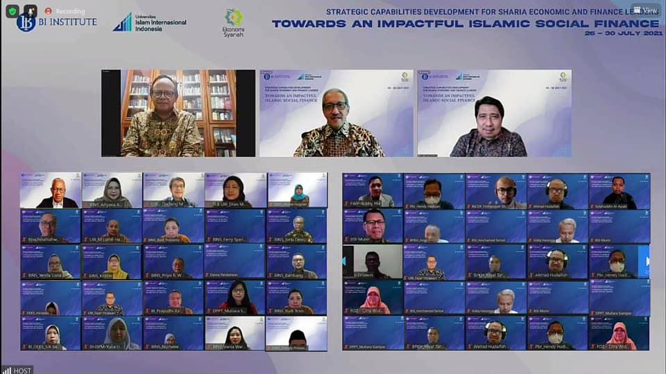 UIII held a Joint International Webinar on Sharia Economic and Finance Leaders